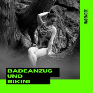 Badeanzug und Bikini