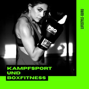 Kampfsport und Boxfitness
